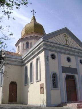 Catedral Ortodoxa São Demétrio, Curitiba, Brasil.