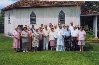 Paróquia Espírito Santo - Nova Ucrânia - Apucarana - PR