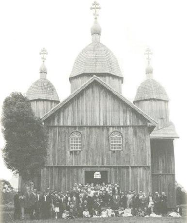 Antiga Igreja de São Valdomiro Magno - Papanduva - SC